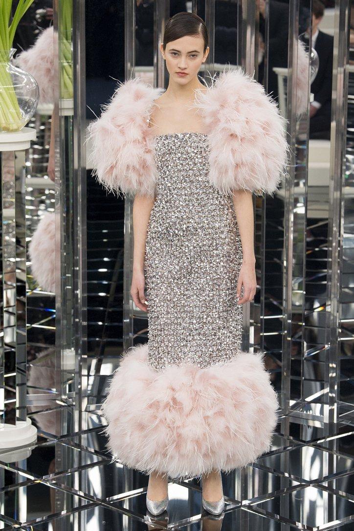 Chanel Haute Couture весна 2017 фото №62