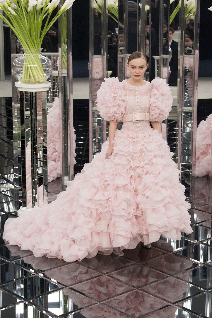 Chanel Haute Couture весна 2017 фото №66