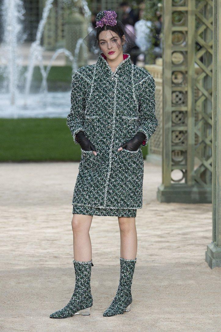 Коллекция Chanel Haute Couture весна-лето 2018 фото №4