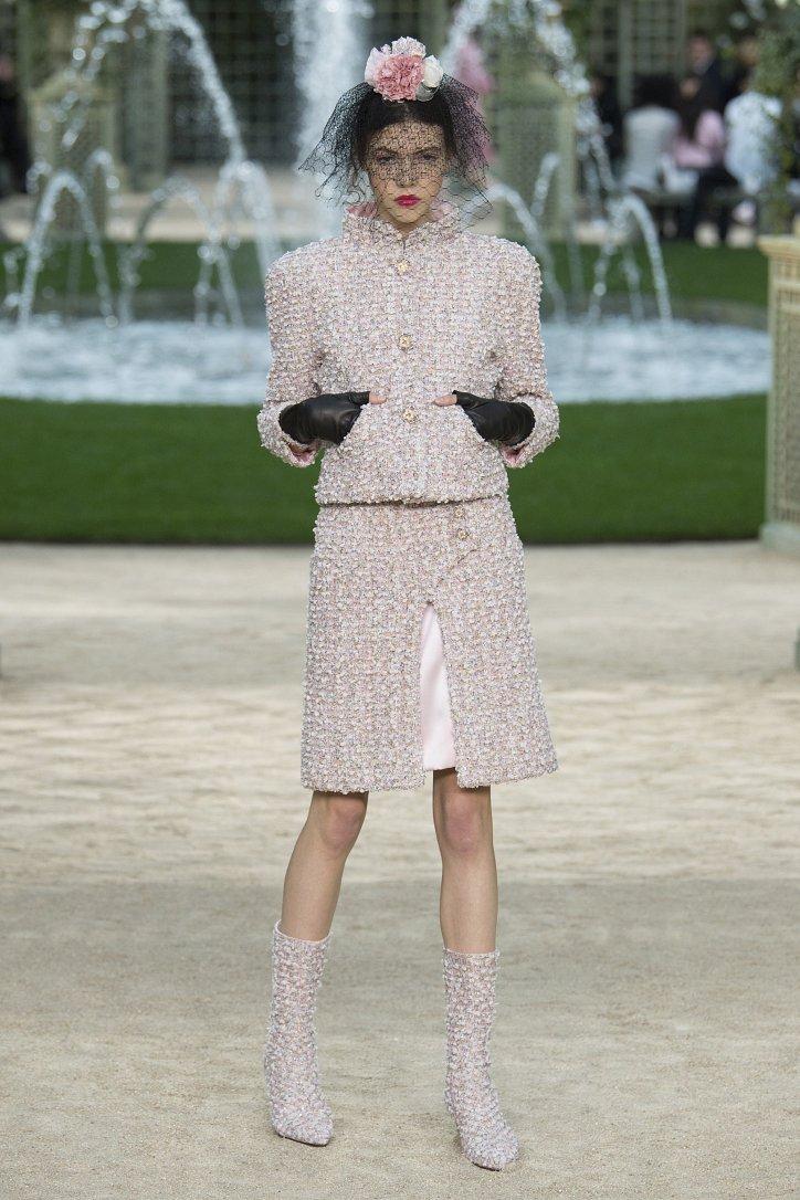 Коллекция Chanel Haute Couture весна-лето 2018 фото №8