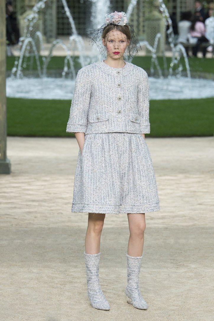Коллекция Chanel Haute Couture весна-лето 2018 фото №19