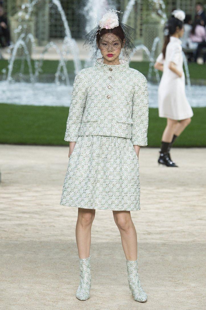 Коллекция Chanel Haute Couture весна-лето 2018 фото №20