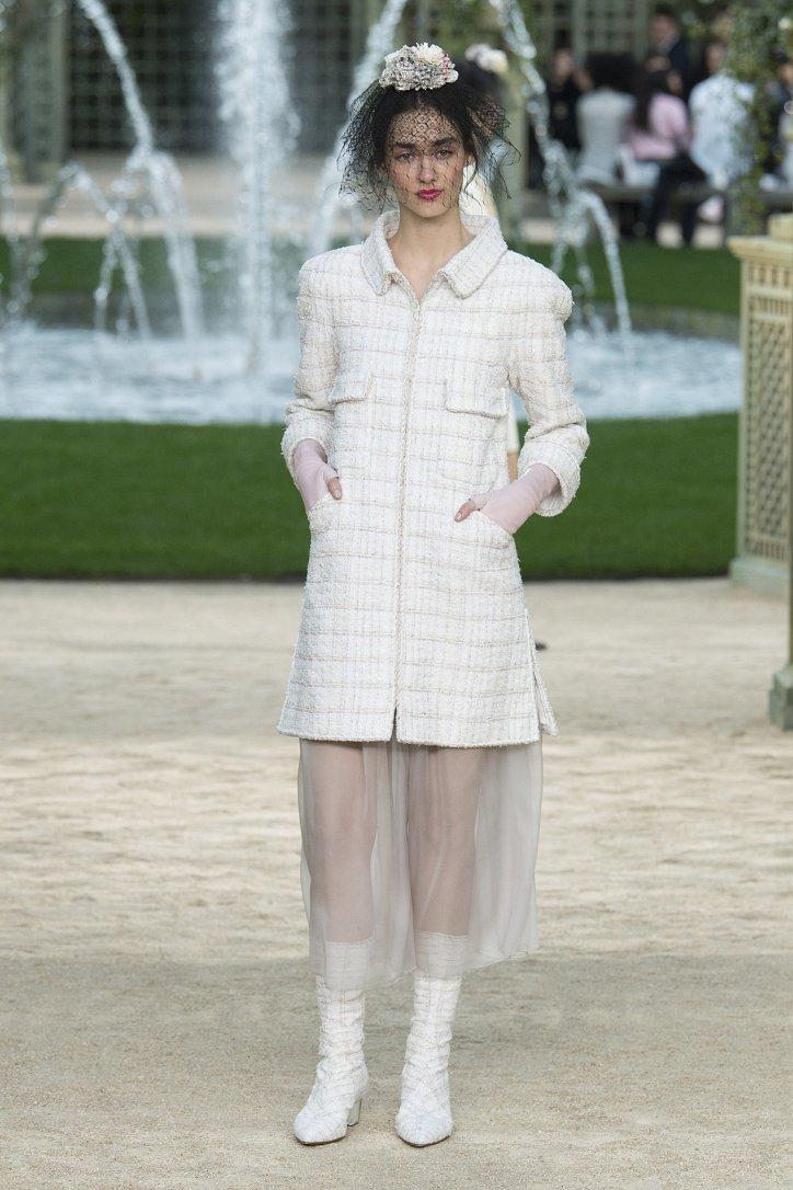 Коллекция Chanel Haute Couture весна-лето 2018 фото №21