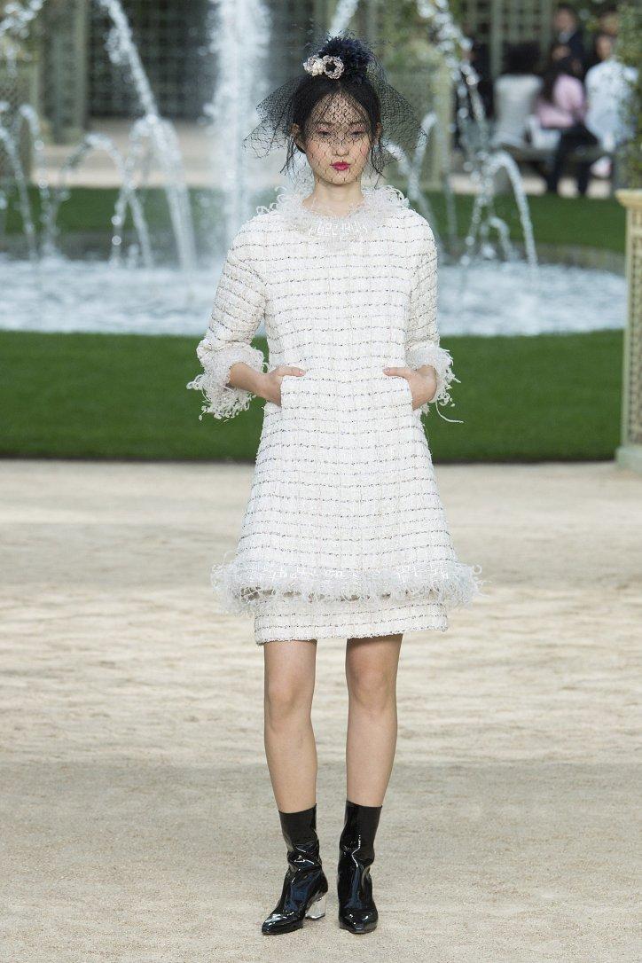 Коллекция Chanel Haute Couture весна-лето 2018 фото №22