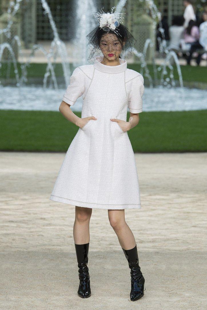 Коллекция Chanel Haute Couture весна-лето 2018 фото №24