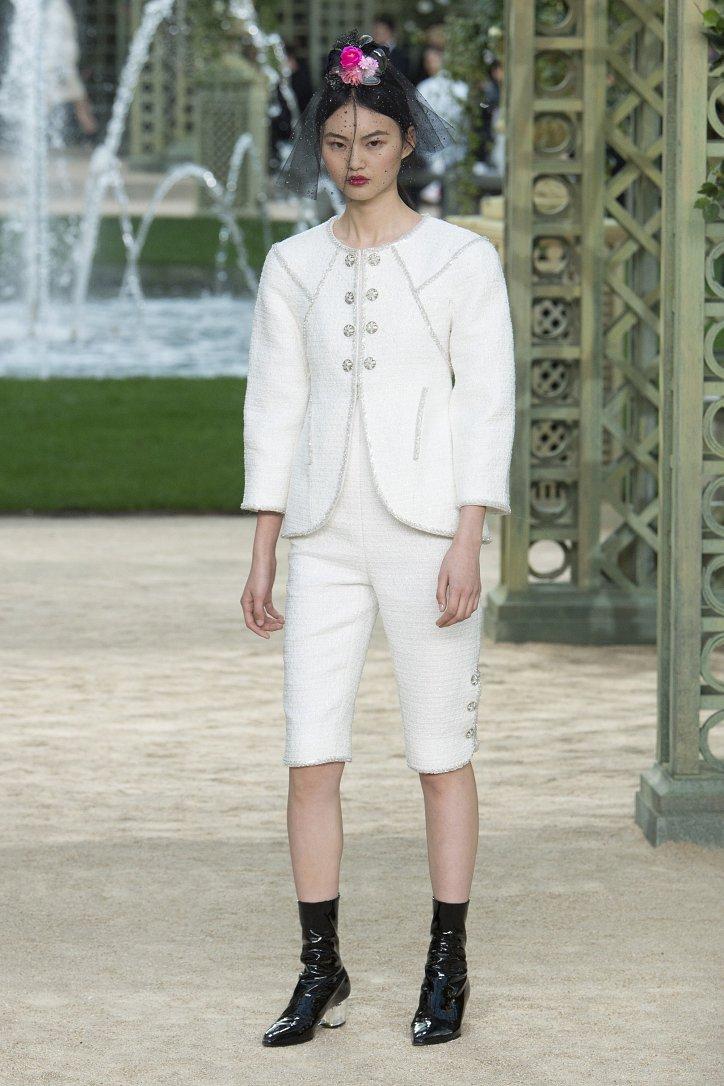 Коллекция Chanel Haute Couture весна-лето 2018 фото №29