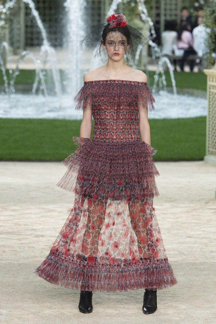 Коллекция Chanel Haute Couture весна-лето 2018 фото №43