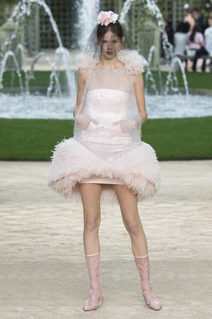 Коллекция Chanel Haute Couture весна-лето 2018 фото №51