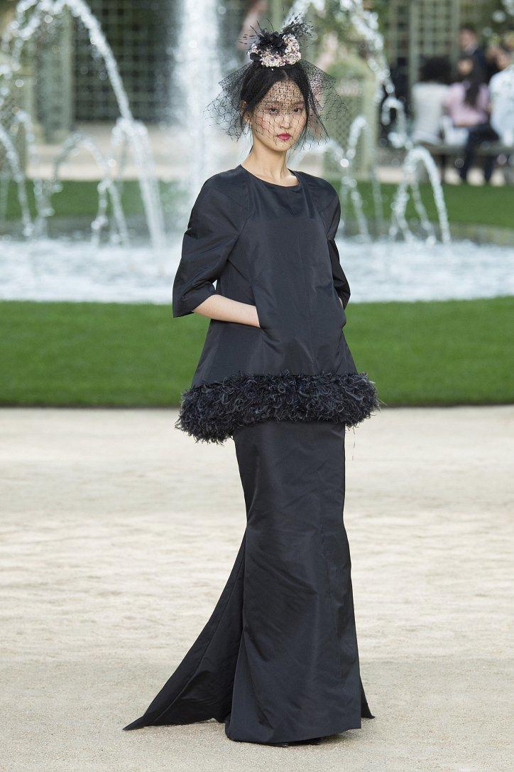 Коллекция Chanel Haute Couture весна-лето 2018 фото №52