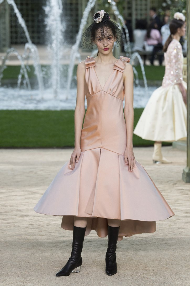 Коллекция Chanel Haute Couture весна-лето 2018 фото №53