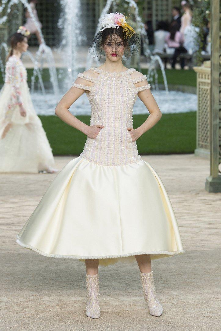 Коллекция Chanel Haute Couture весна-лето 2018 фото №55