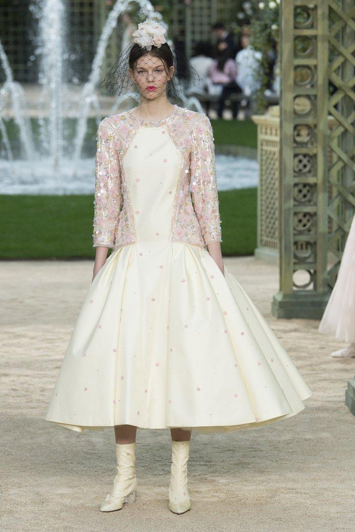 Коллекция Chanel Haute Couture весна-лето 2018 фото №57