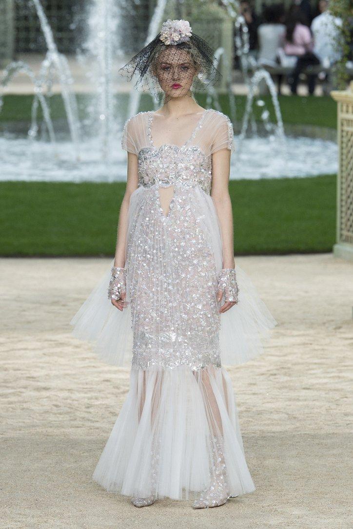 Коллекция Chanel Haute Couture весна-лето 2018 фото №61