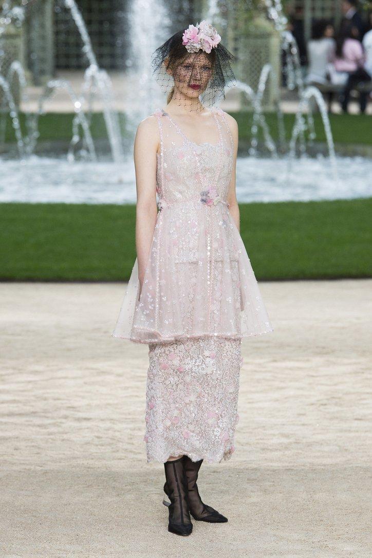 Коллекция Chanel Haute Couture весна-лето 2018 фото №62