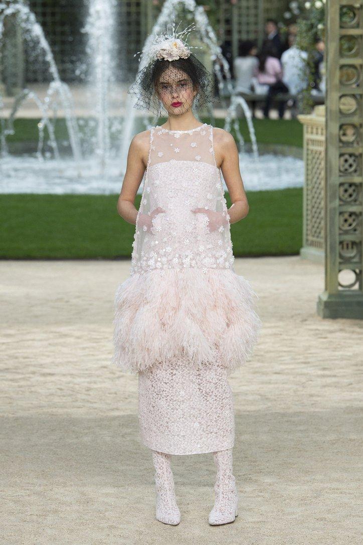 Коллекция Chanel Haute Couture весна-лето 2018 фото №63