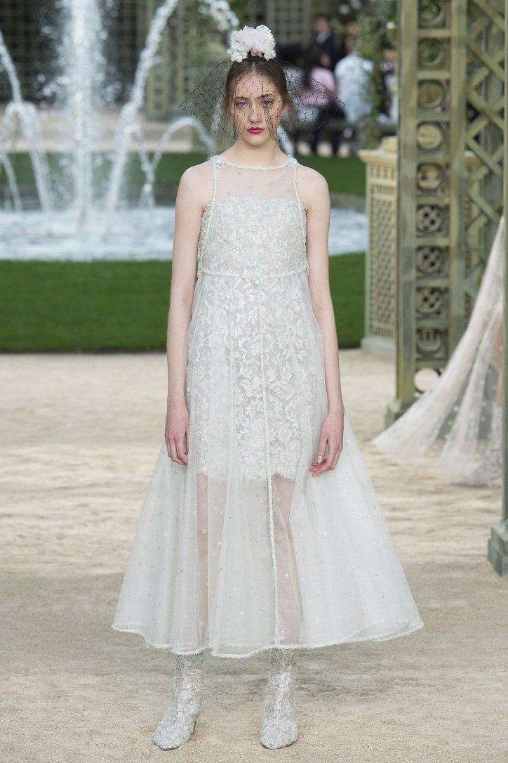 Коллекция Chanel Haute Couture весна-лето 2018 фото №64