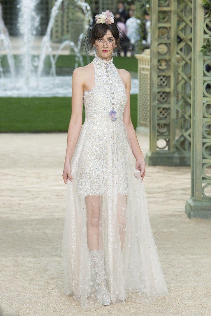 Коллекция Chanel Haute Couture весна-лето 2018 фото №65