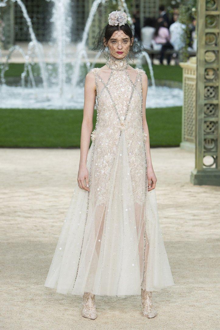 Коллекция Chanel Haute Couture весна-лето 2018 фото №66