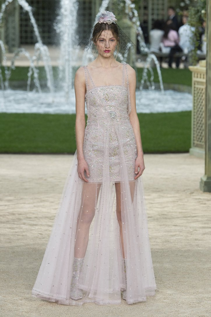 Коллекция Chanel Haute Couture весна-лето 2018 фото №67