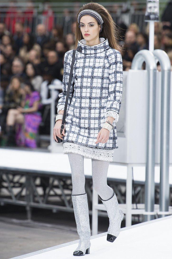 Chanel осень-зима 2017-2018 фото №3