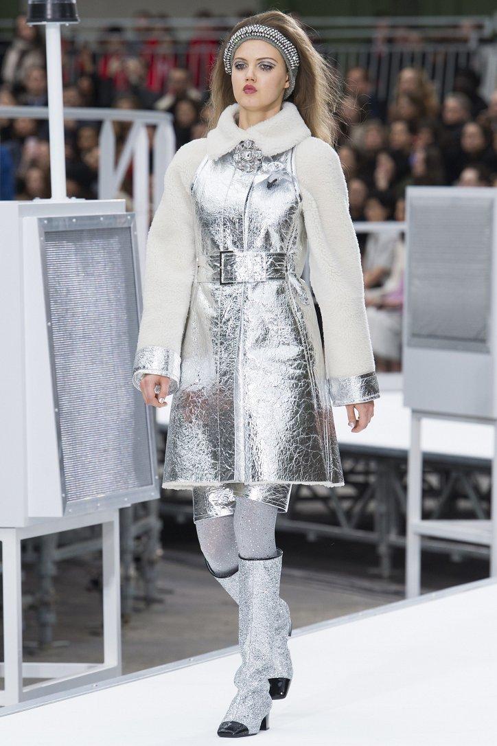Chanel осень-зима 2017-2018 фото №7