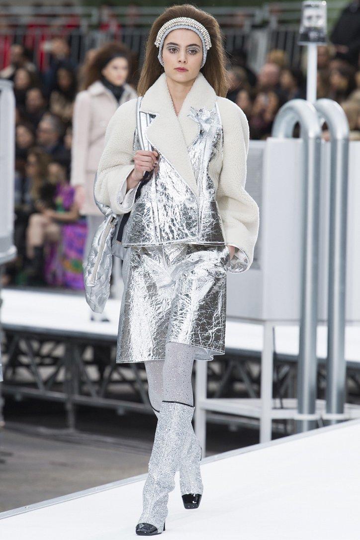 Chanel осень-зима 2017-2018 фото №8