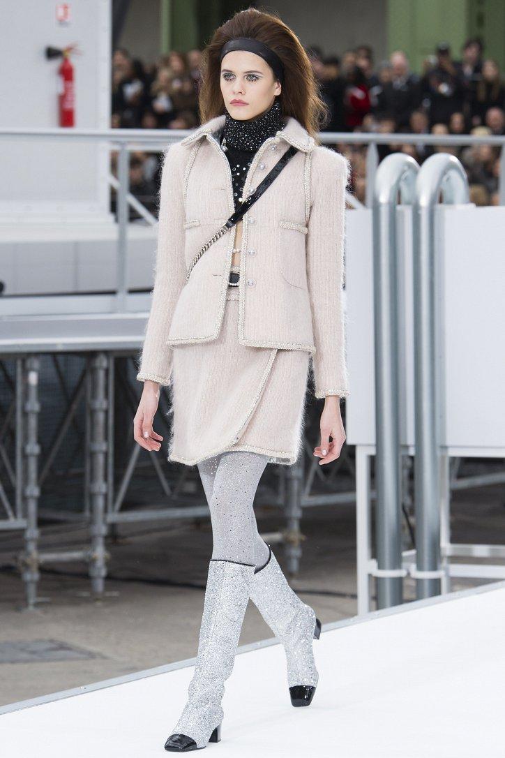 Chanel осень-зима 2017-2018 фото №9