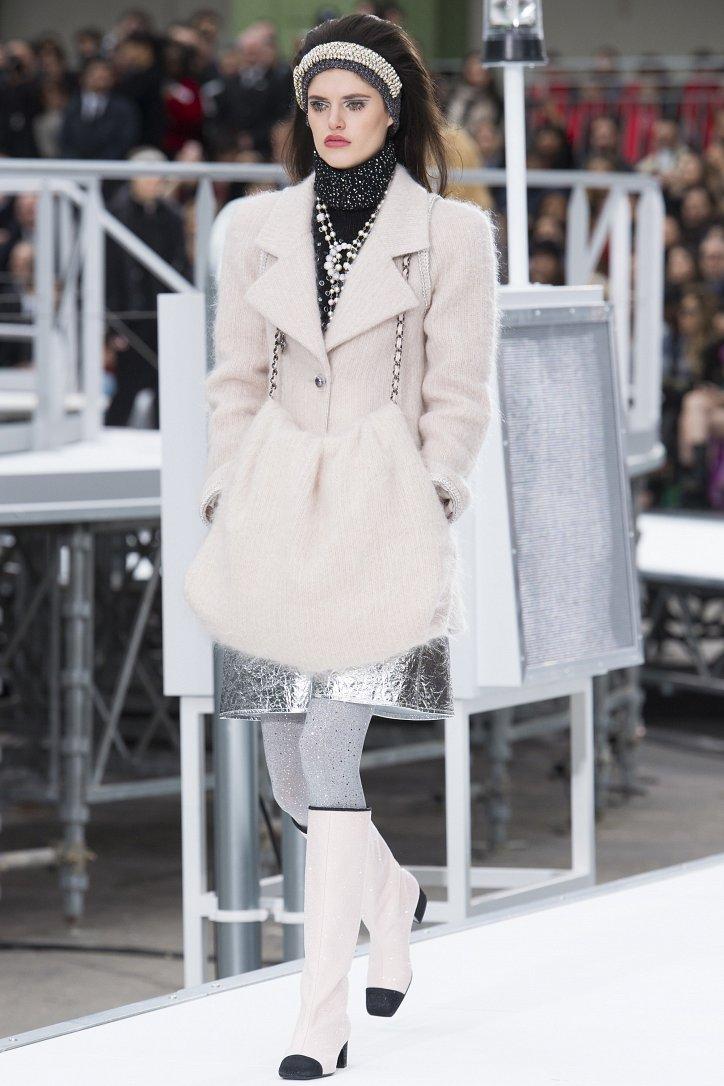 Chanel осень-зима 2017-2018 фото №10