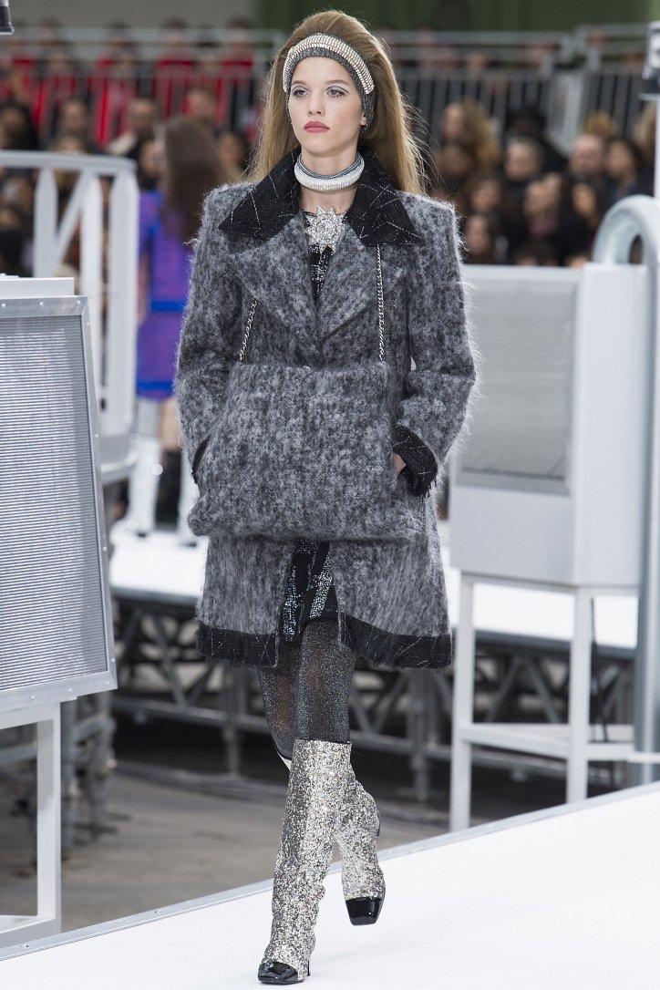 Chanel осень-зима 2017-2018 фото №11