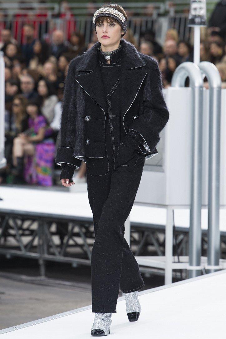 Chanel осень-зима 2017-2018 фото №12