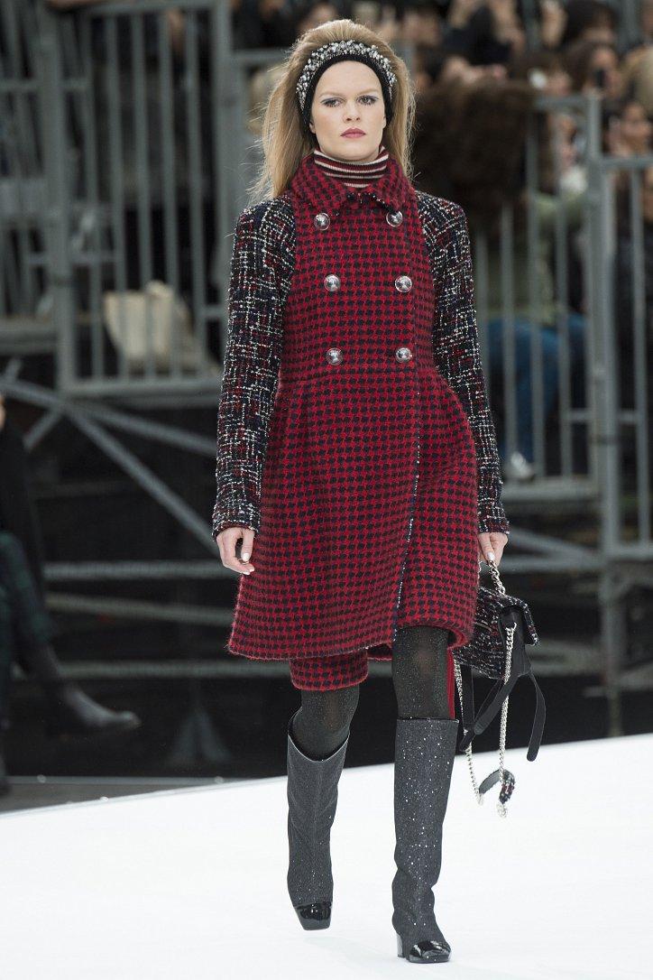 Chanel осень-зима 2017-2018 фото №13