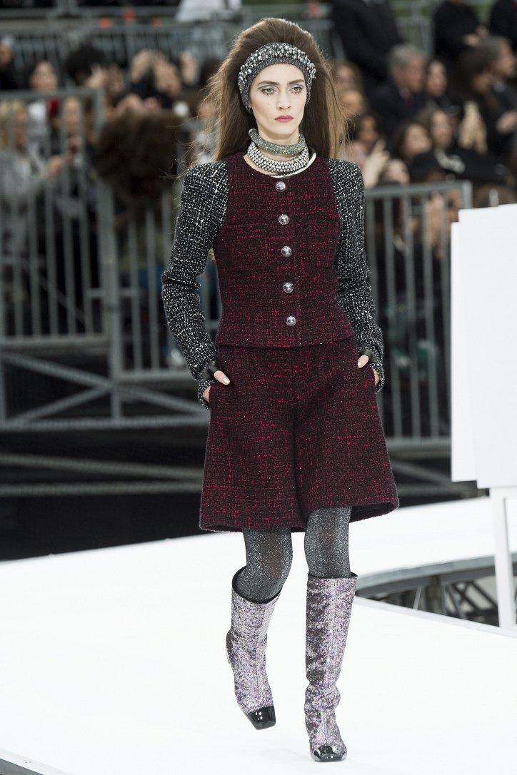 Chanel осень-зима 2017-2018 фото №14