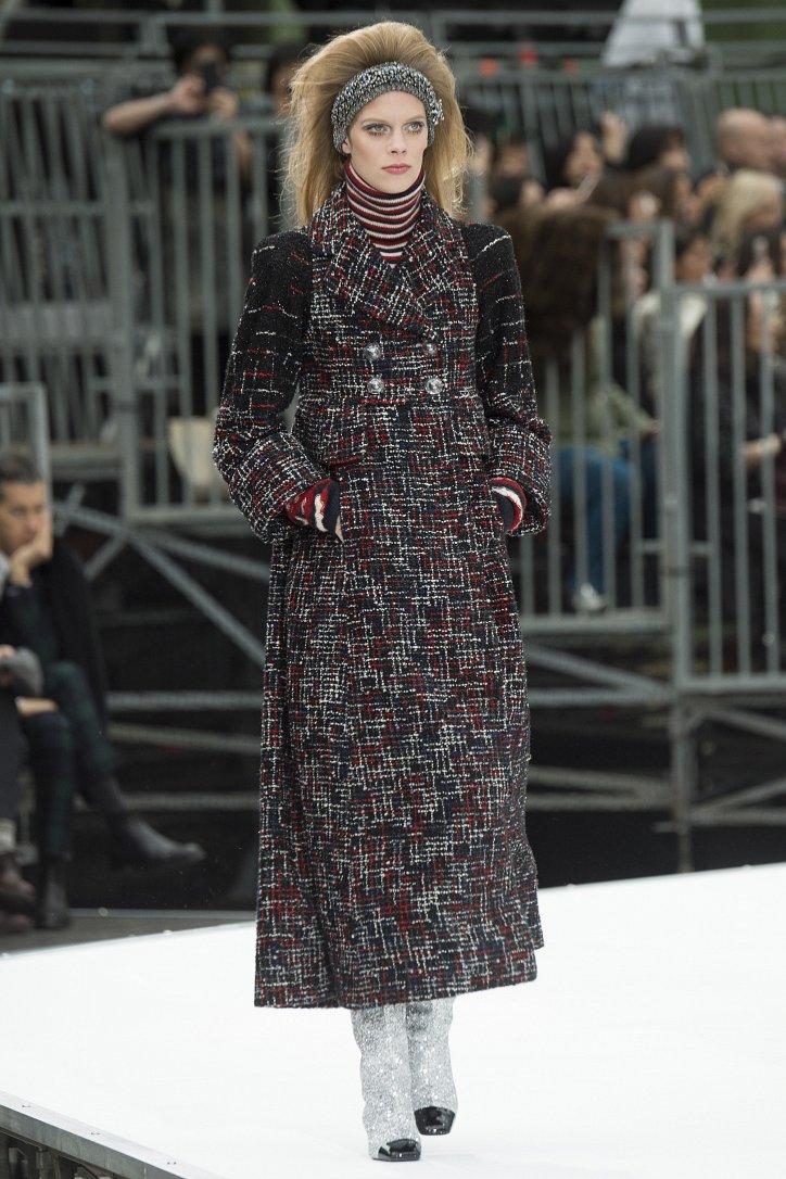 Chanel осень-зима 2017-2018 фото №15