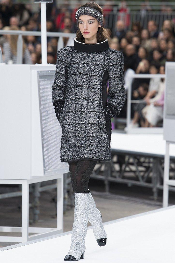Chanel осень-зима 2017-2018 фото №19