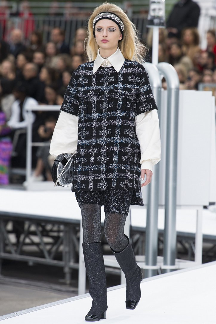 Chanel осень-зима 2017-2018 фото №21