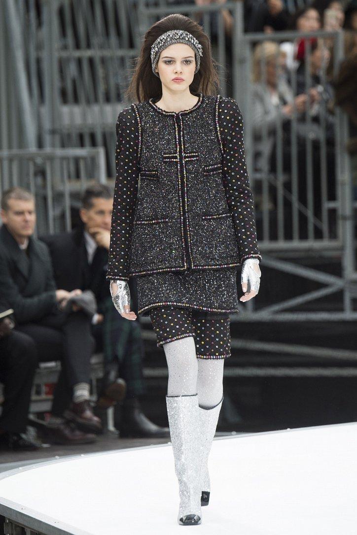 Chanel осень-зима 2017-2018 фото №27