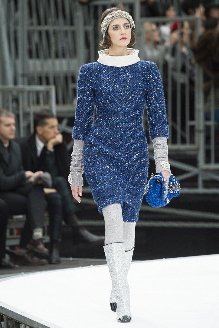 Chanel осень-зима 2017-2018 фото №28