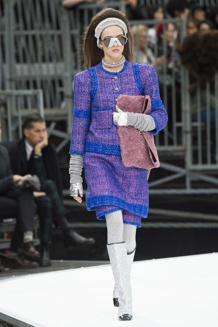 Chanel осень-зима 2017-2018 фото №31