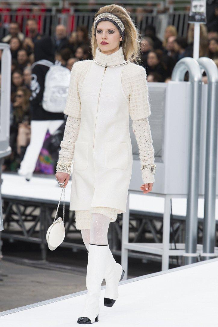 Chanel осень-зима 2017-2018 фото №35