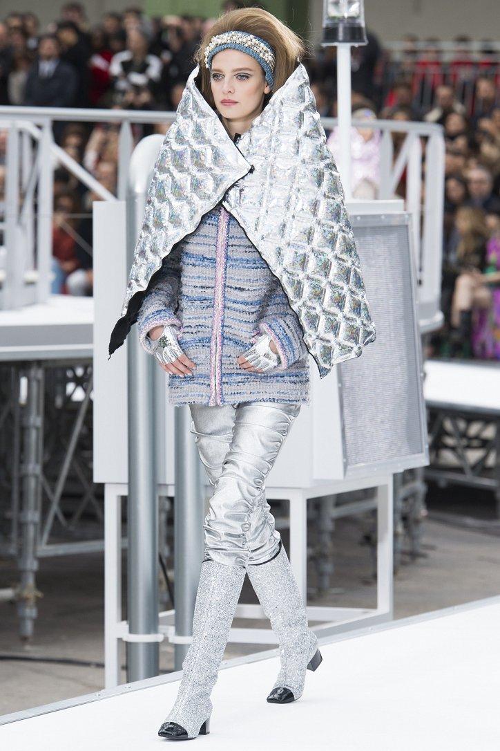 Chanel осень-зима 2017-2018 фото №47