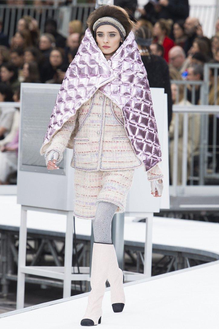 Chanel осень-зима 2017-2018 фото №48