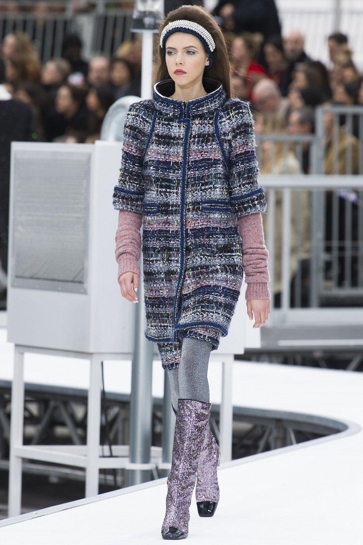 Chanel осень-зима 2017-2018 фото №50
