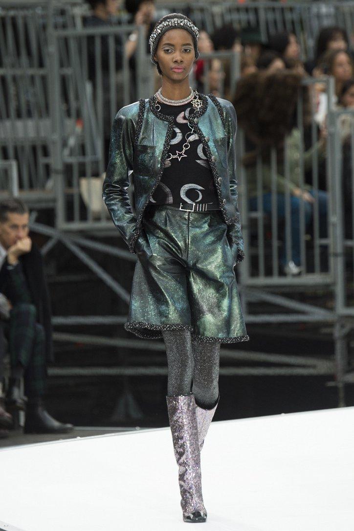 Chanel осень-зима 2017-2018 фото №61