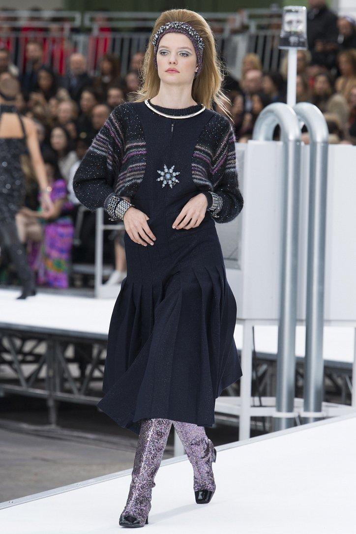 Chanel осень-зима 2017-2018 фото №67