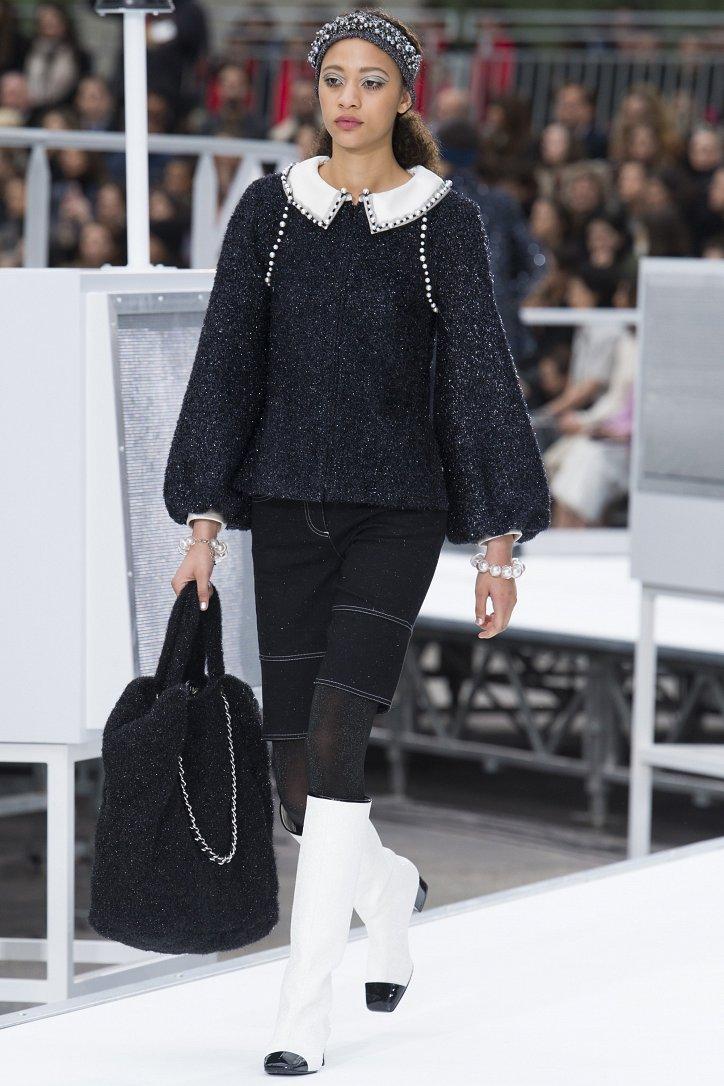 Chanel осень-зима 2017-2018 фото №71