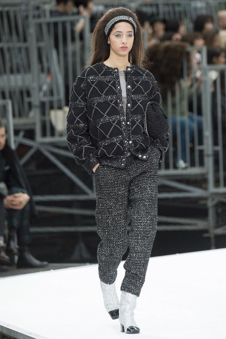 Chanel осень-зима 2017-2018 фото №72