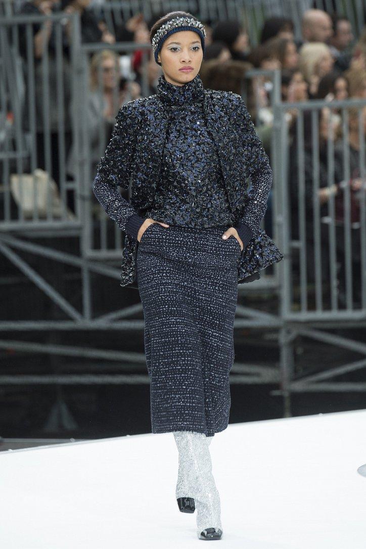 Chanel осень-зима 2017-2018 фото №84