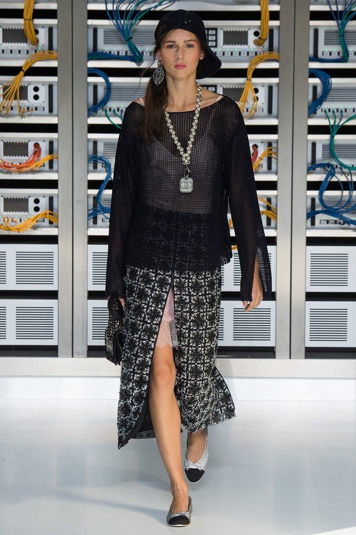 Chanel весна-лето 2017 фото №66