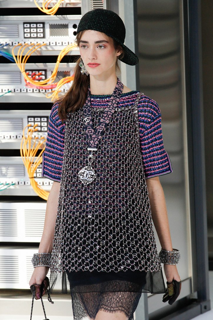 Chanel весна-лето 2017 фото №128