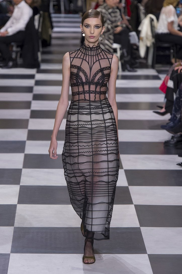 Christian Dior Haute Couture весна-лето 2018 фото №11